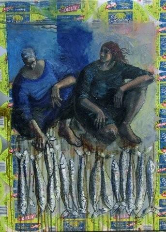 GAELE FLAO - copines de la sardine