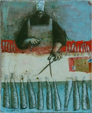 joséphine, tête de sardine